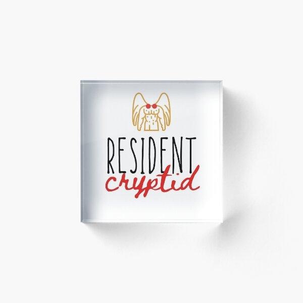 Resident Cryptid 2 Acrylic Block