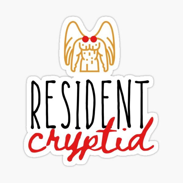 Resident Cryptid 2 Sticker