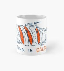 DAIJOUBU SALMON Classic Mug