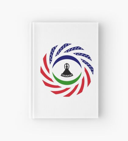 Mosotho American Multinational Patriot Flag Series Hardcover Journal
