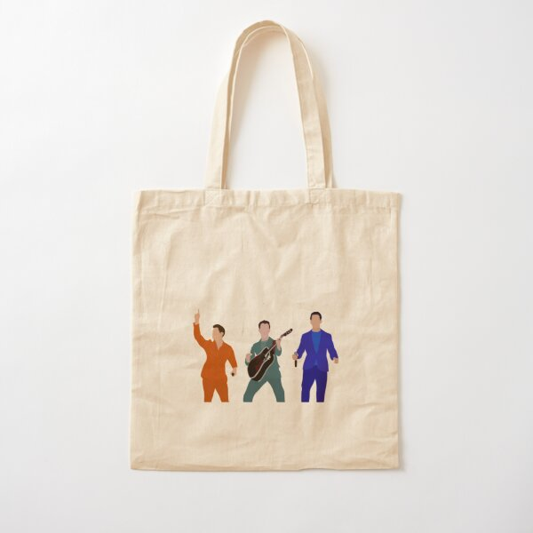 novelty gift music Jonas Brothers apparel art Nick Jonas Joe Jonas Tote Bag gift accessory