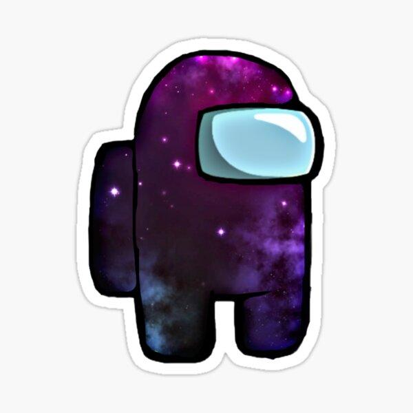 Among Us Crewmate Galaxy Sticker