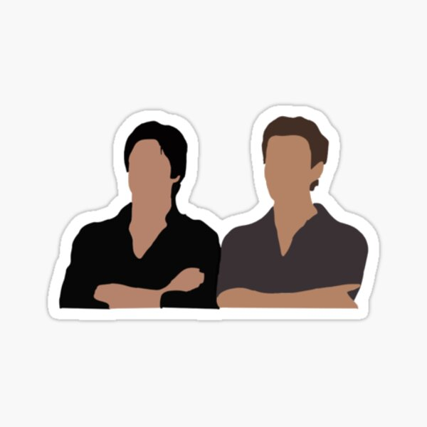 the salvatore brothers stickers Sticker