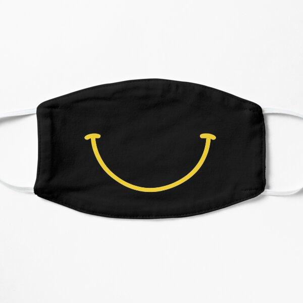 smiley-vamos a poner una sonrisa en la faz de la tierra Mascarilla plana