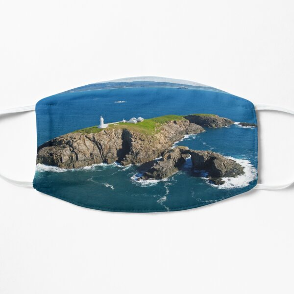 South Solitary Island Lighthouse Flat Mask