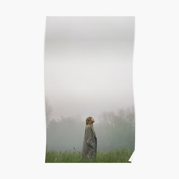 Cloudly Forest Poster