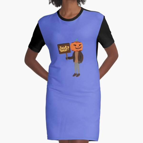 Trick or treat Graphic T-Shirt Dress