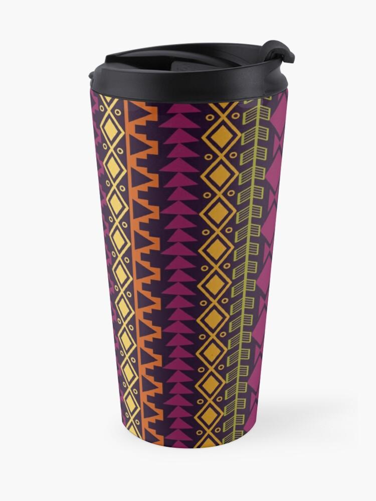 Alternate view of African Border Travel Mug