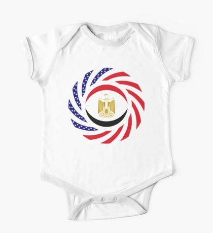 Egyptian American Multinational Patriot Flag Series Kids Clothes