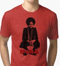 Nina Simone Sit Tri-blend T-Shirt