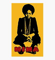 Nina Simone Sit Photographic Print