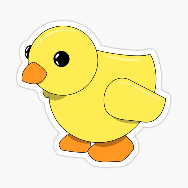 Adopt Me Chick Sticker By Mochi Pop Redbubble