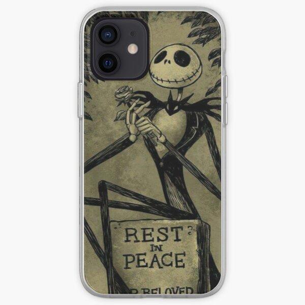 Coque iPhone « Jack Skellington seul dans le cimetière », par ...
