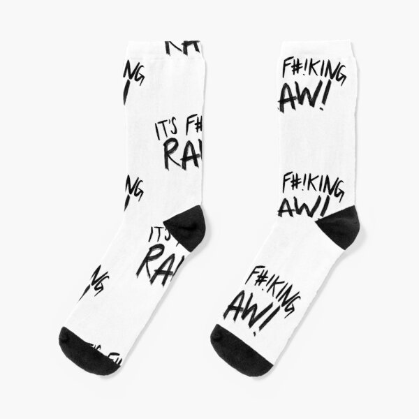 It's F#!king RAW! Gordon Ramsay Socks