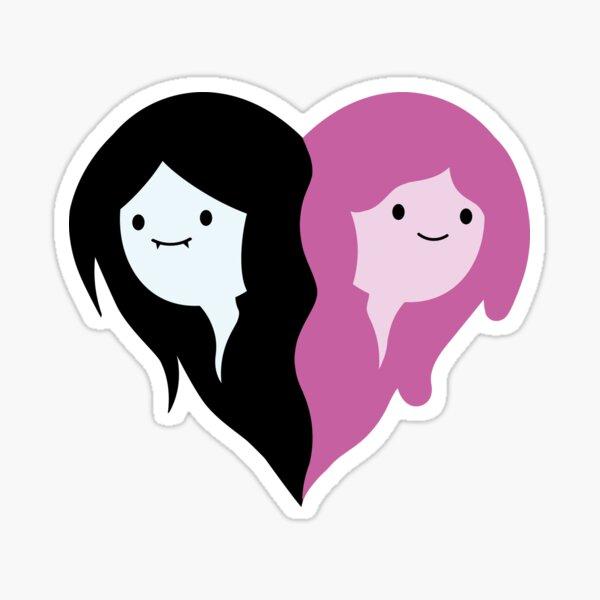 Marceline and Bubblegum Sticker