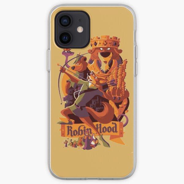Robin hood cartoon merch iPhone Soft Case