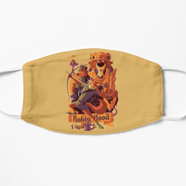 Robin hood cartoon merch Flat Mask