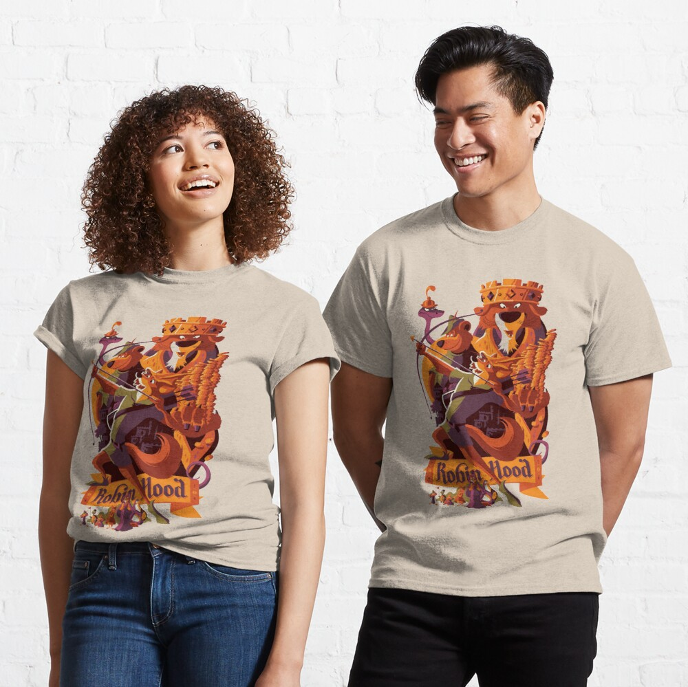 Robin hood cartoon merch Classic T-Shirt
