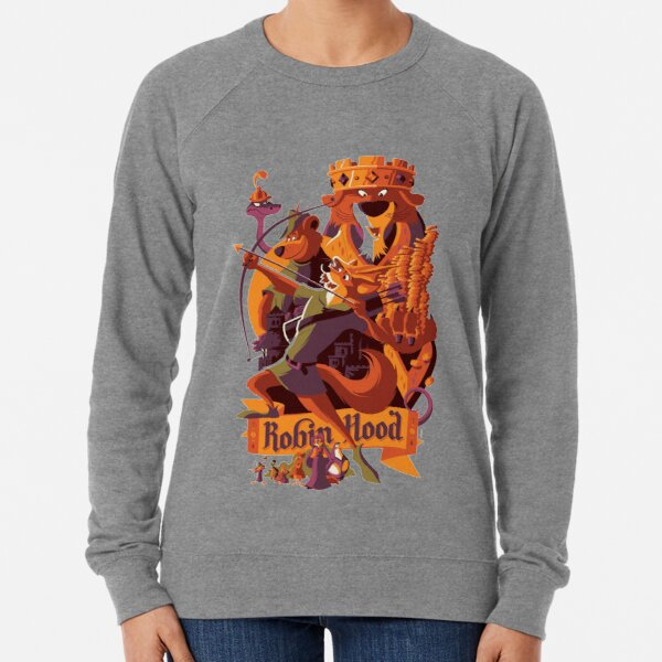 Robin hood cartoon merch Lightweight Sweatshirt