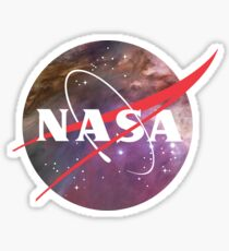 NASA NEBULA LOGO Sticker