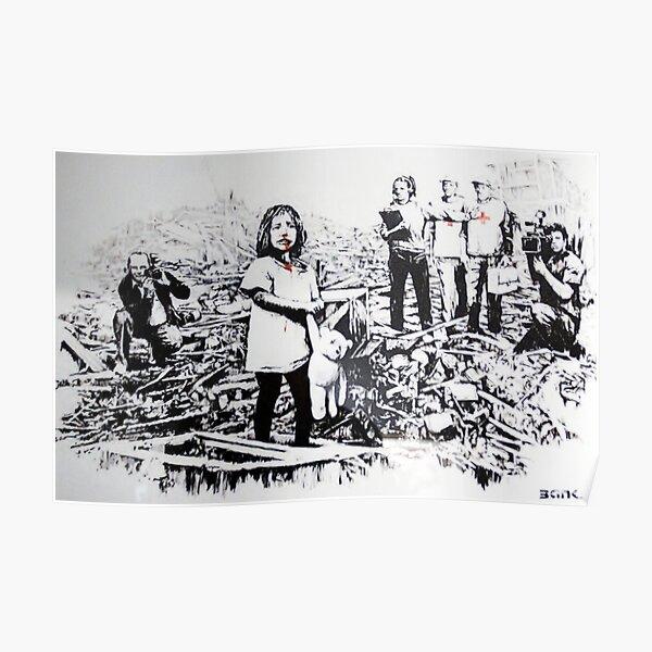 Media At War - Banksy Poster