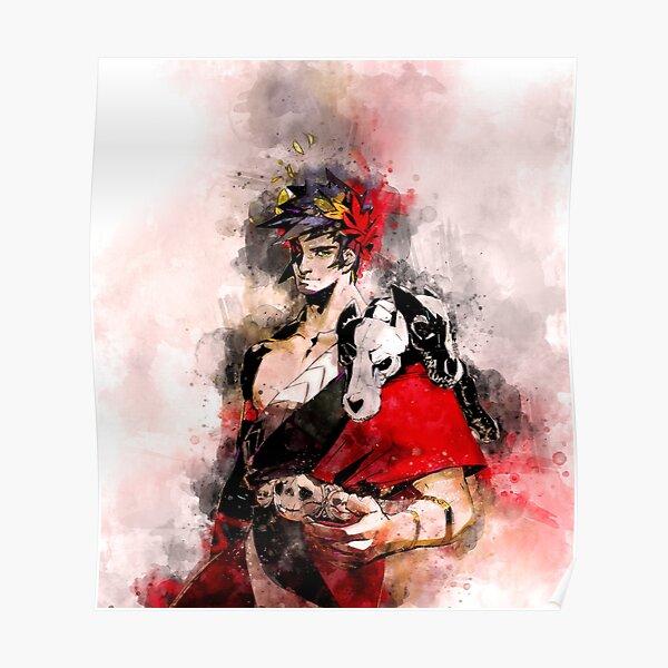 Zagreus - Hades game watercolor Poster