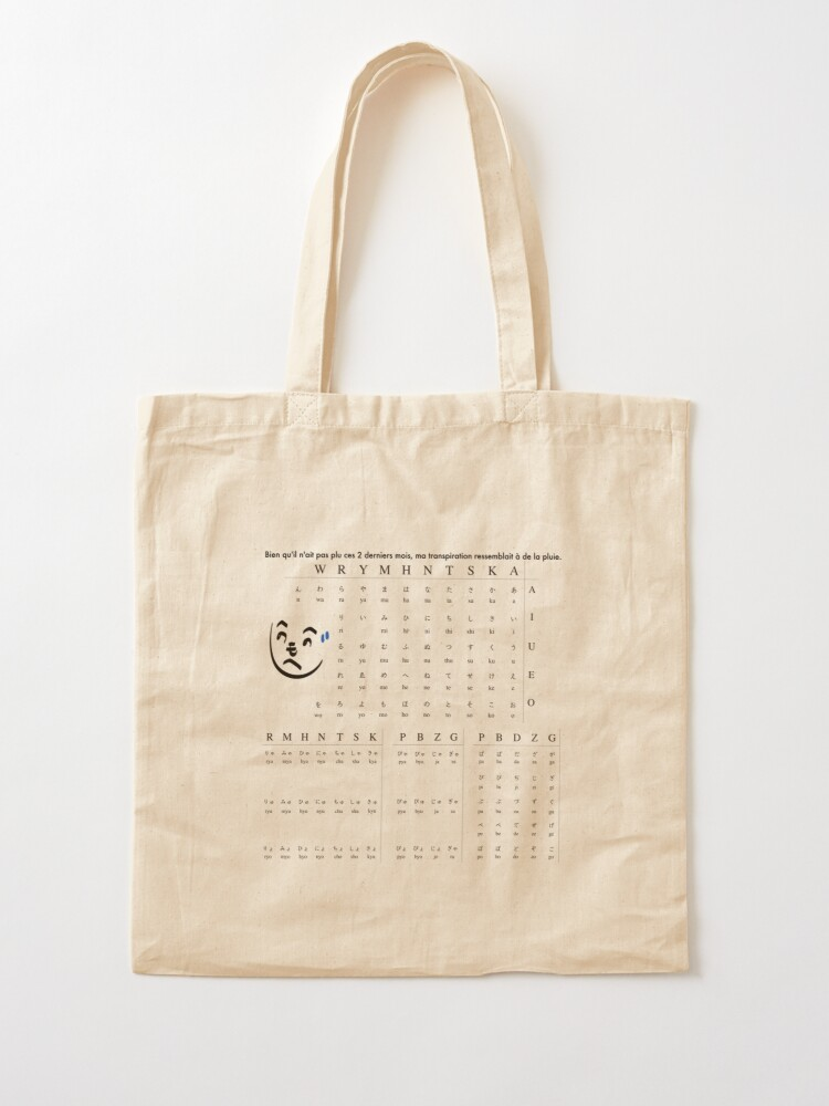 Alternate view of Learn Japanese Tote Bag