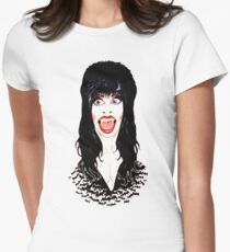 Elvira Womens Fitted T-Shirt