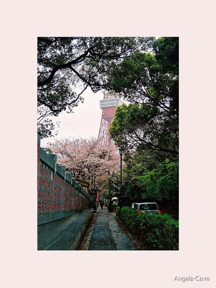 Tokyo Tower in the Spring by Angels-Cave