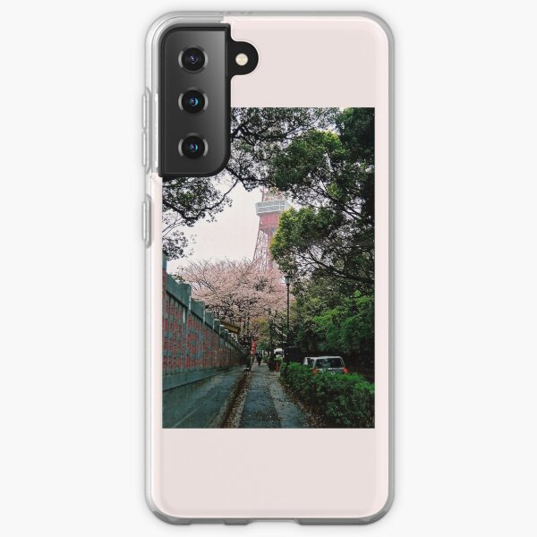 Tokyo Tower in the Spring Samsung Galaxy Soft Case