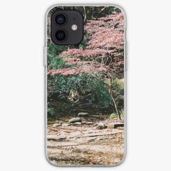 Under Tokyo Tower in the spring iPhone Soft Case