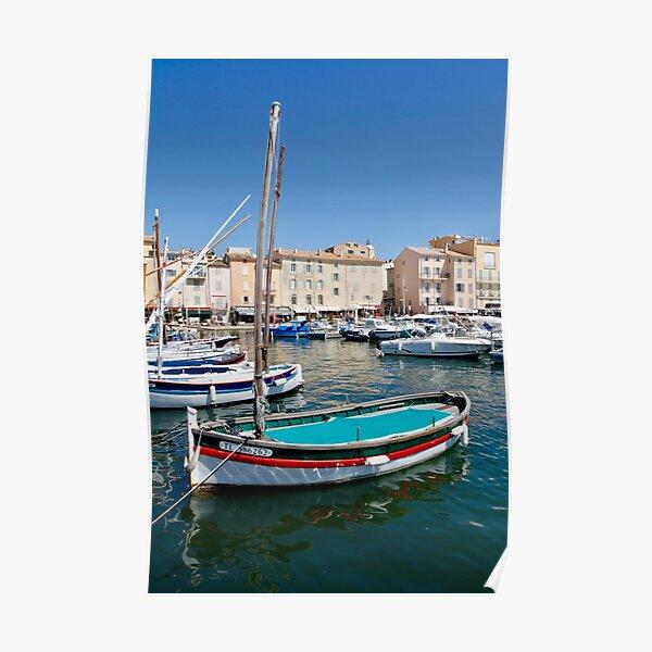 Port de Saint-Tropez Poster