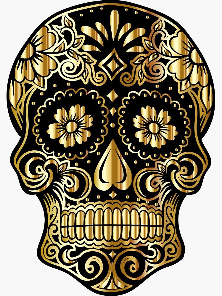 Gold Skull by SiddharthaMoon