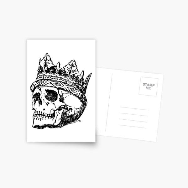 King Of Skull Postcard