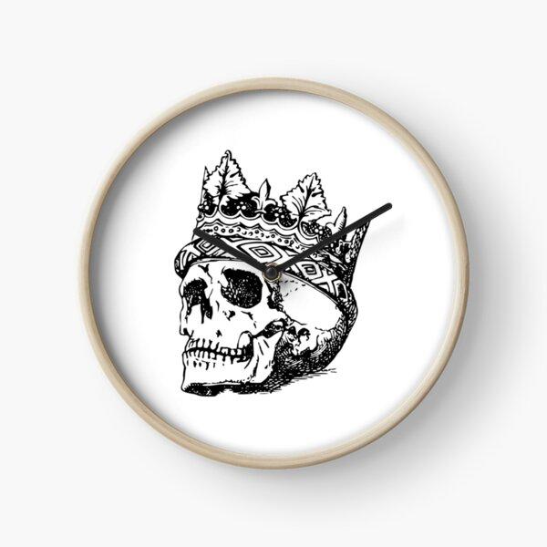 King Of Skull Clock