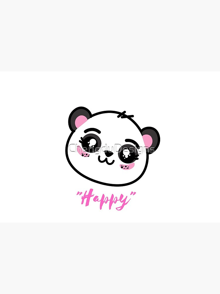Happy Panda Design Gift idea for Christmas  2021 by ChengduDesigns