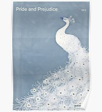 "Jane Austen ""Pride and Prejudice"" Poster"