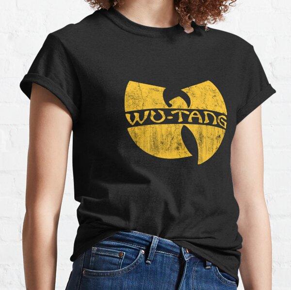 retro shaolin wu Classic T-Shirt