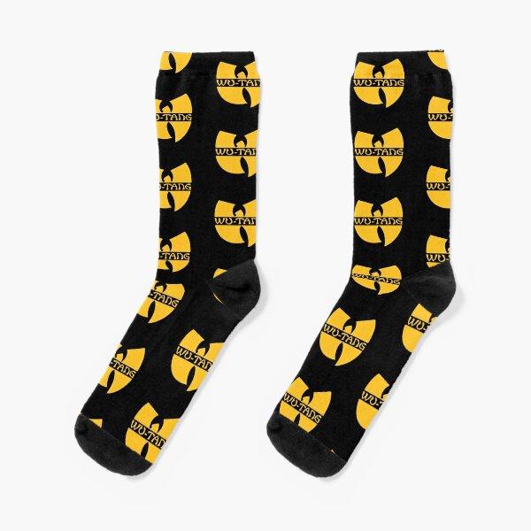 yellow classic shaolin wu Socks