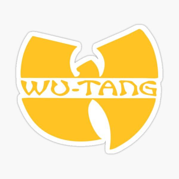 shaolin wu classique jaune Sticker