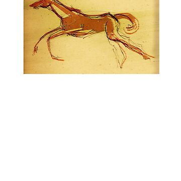 red horse run by truecolors