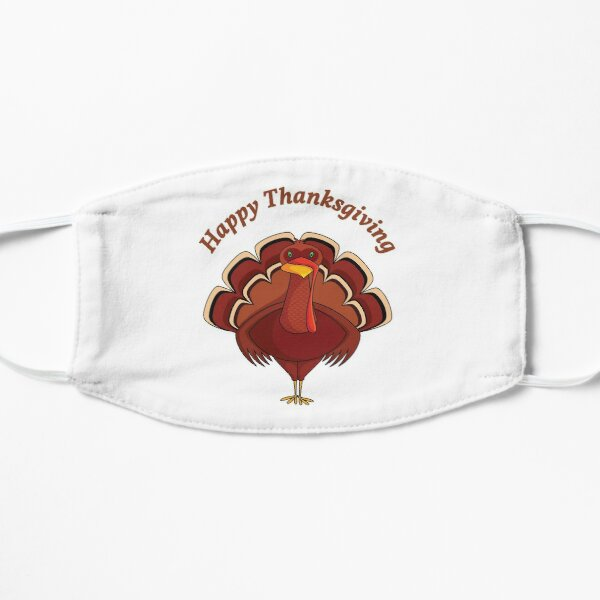 Happy Thanksgiving Design Mask