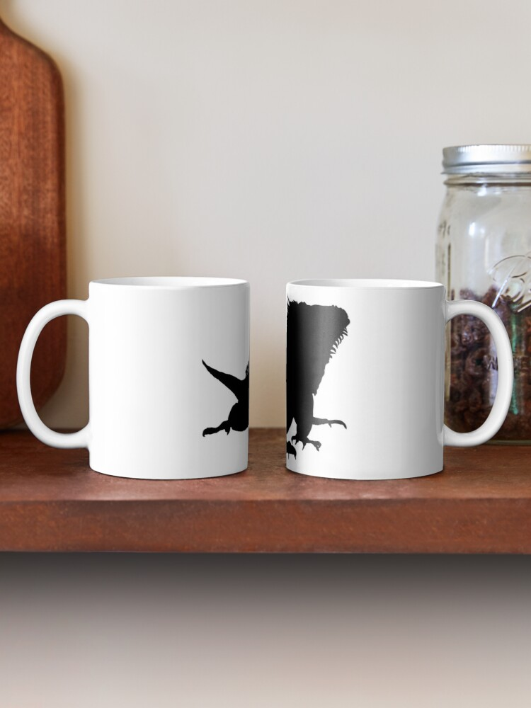 Alternate view of Iguana Silhouette Mug