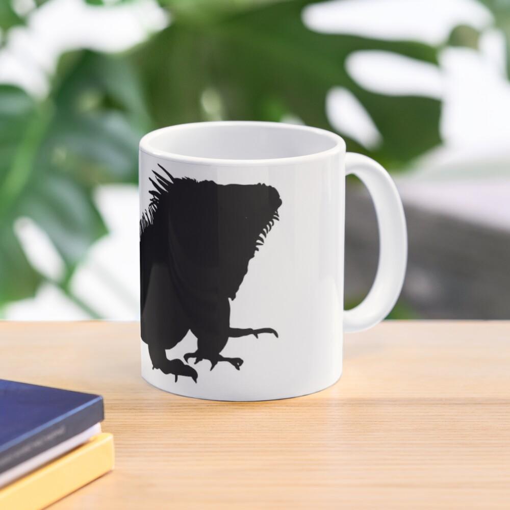 Iguana Silhouette Mug