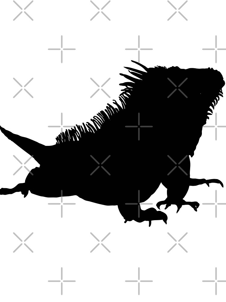 Iguana Silhouette by snibbo71
