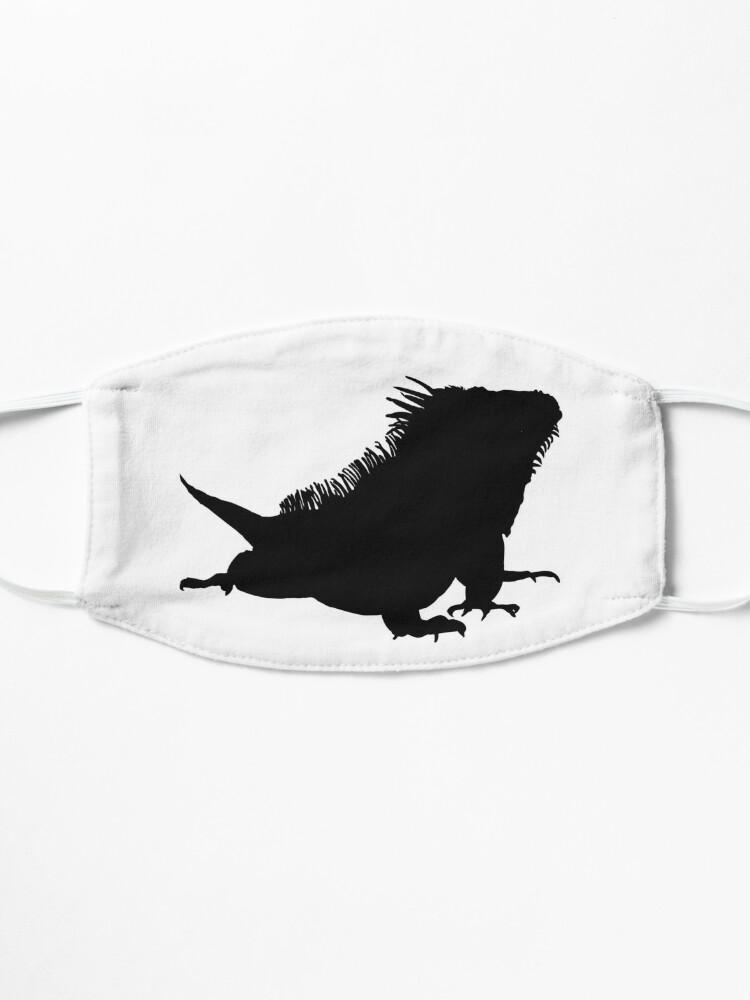 Alternate view of Iguana Silhouette Mask