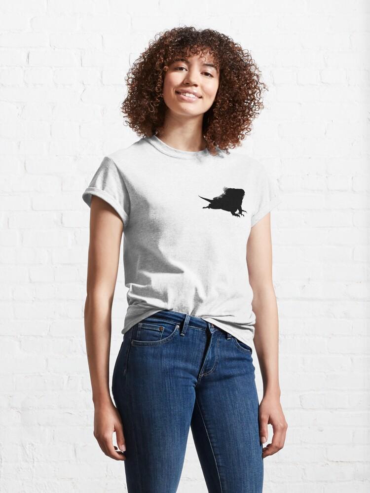 Alternate view of Iguana Silhouette Classic T-Shirt