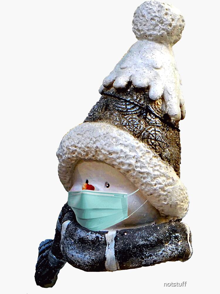 Masked Santa - Holiday Virus Protection - Christmas by notstuff