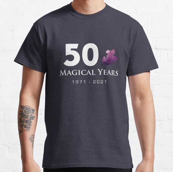50 Magical Years - Fairy (White Text) Classic T-Shirt