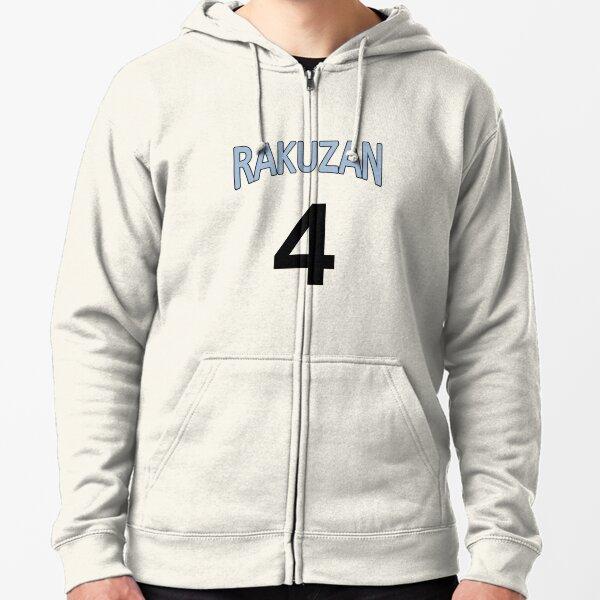 Équipe du lycée Rakuzan - Maillot Akashi Seijuro Veste zippée à capuche